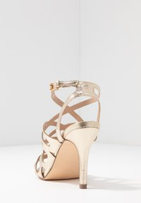 Dorothy Perkins - SPIKE CAGE - High heeled sandals - champagne - 5