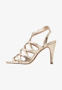 Dorothy Perkins - SPIKE CAGE - High heeled sandals - champagne - 1