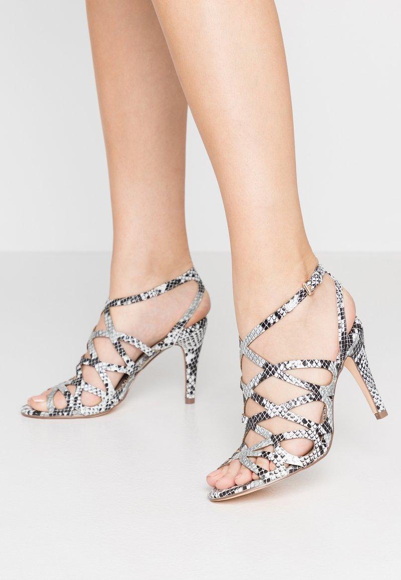 Dorothy Perkins - SPIKE CAGE - Højhælede sandaletter / Højhælede sandaler - grey