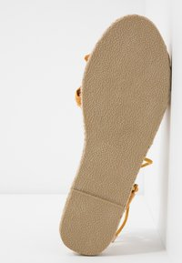Dorothy Perkins - TWO PART BOW  - Espadrilles - mustard - 6