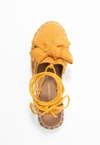 Dorothy Perkins - TWO PART BOW  - Espadrilles - mustard - 3