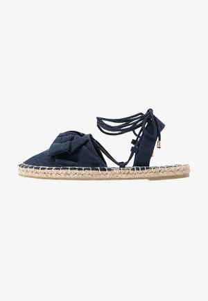 TWO PART BOW  - Espadrilles - navy