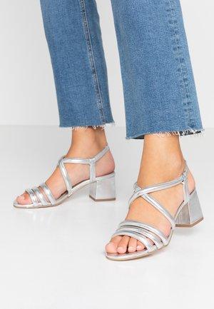 BARBY TUBULAR  - Sandals - silver