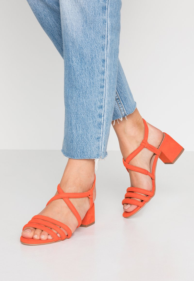 Dorothy Perkins - BARBY TUBULAR  - Sandalias - orange