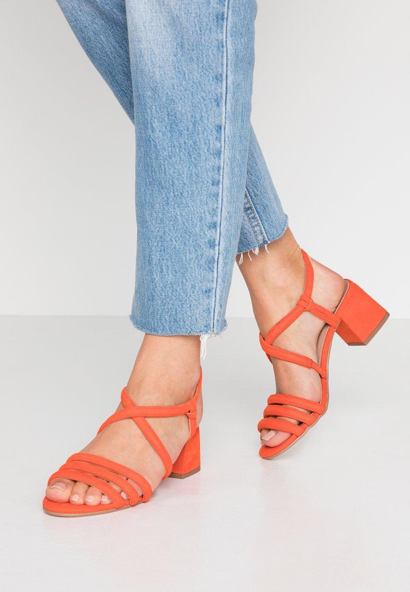 Dorothy Perkins - BARBY TUBULAR  - Sandals - orange