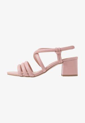 BARBY TUBULAR  - Riemensandalette - pink