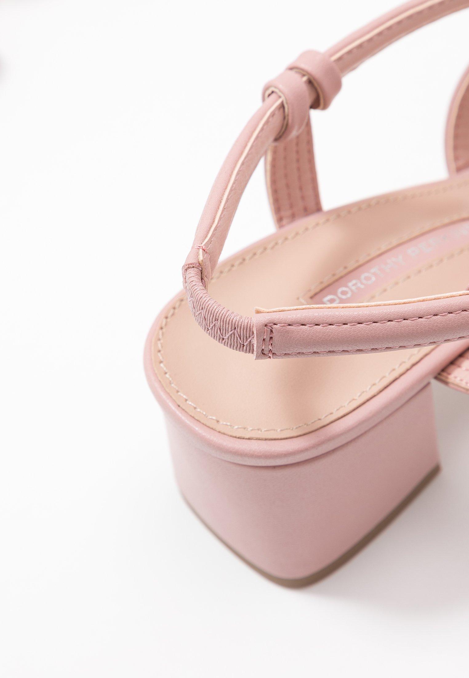 BARBY TUBULAR Sandali pink