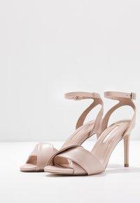Dorothy Perkins - BETH ORIGAMI DRESSY - Sandaler med høye hæler - blush - 4