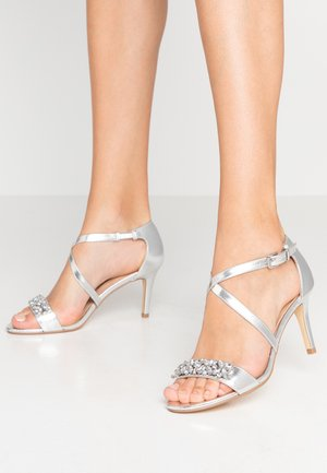 BING EMBELLISHED - Sandals - silver