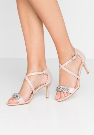 BING EMBELLISHED - Sandals - nude