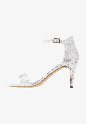 BESSIE HEATSEAL 2 PART  - Sandals - silver