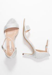 Dorothy Perkins - BESSIE HEATSEAL 2 PART  - Sandals - silver - 3