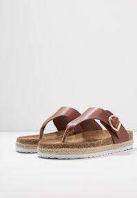 Dorothy Perkins - FABLE FOOTBED TOE POST - Sandály s odděleným palcem - tan - 4