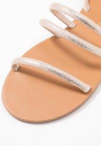 Dorothy Perkins - TUBULAR - Sandals - gold metallic - 2