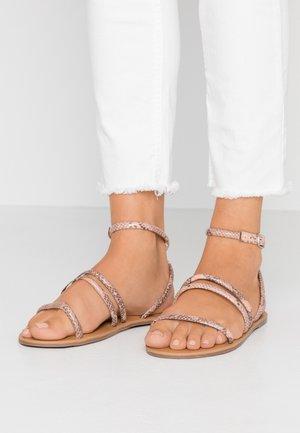 TUBULAR - Sandals - pink