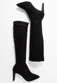 Dorothy Perkins - KENDRA HEELED STRETCH POINT BOOT - Stiefel - black - 3