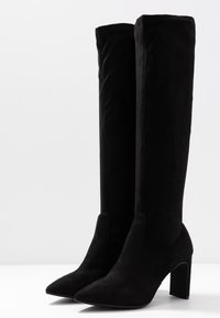 Dorothy Perkins - KENDRA HEELED STRETCH POINT BOOT - Stiefel - black - 4