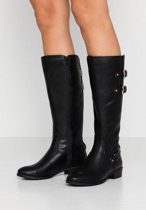 KIKI BELLOWS RIDING  - Cowboy/Biker boots - black
