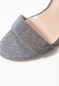 Dorothy Perkins - BAMBAM 2 PART PATTERNED - Sandaler med høye hæler - silver - 2