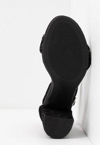 Dorothy Perkins - SHIMSHAM - Sandalias de tacón - black - 6