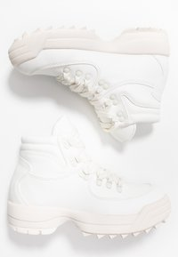 Dorothy Perkins - IGGY HIKER HIGH TOP TRAINER - Ankelboots - white - 3