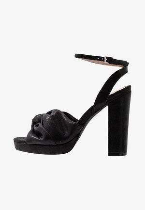 BOLLY TWIST PLATFORM - Sandaletter - black