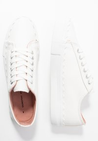 Dorothy Perkins - ICING SCALLOP TRAINER - Joggesko - white - 3