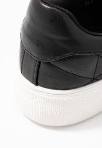 Dorothy Perkins - LOLA SKYE LIZZIE LACE UP QUILTED TRAINER - Trainers - black - 2