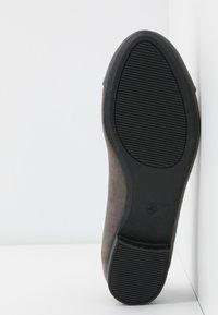 Dorothy Perkins - PALMA  - Scarpe senza lacci - grey - 6