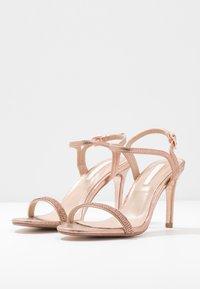 Dorothy Perkins - BLINK PART  - High heeled sandals - rose gold - 4