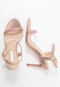 Dorothy Perkins - BLINK PART  - High heeled sandals - rose gold - 3