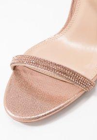 Dorothy Perkins - BLINK PART  - High heeled sandals - rose gold - 2