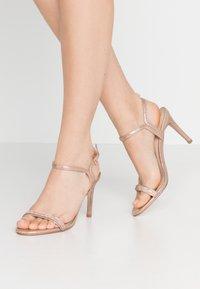 Dorothy Perkins - BLINK PART  - High heeled sandals - rose gold - 0