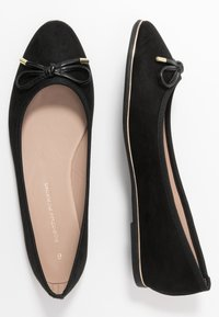 Dorothy Perkins - PARTY METAL RAND - Ballet pumps - black - 3