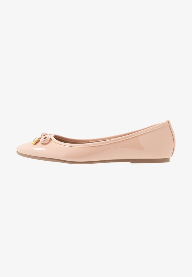 Ballet pumps - blush