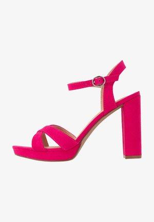 SAUCY PLATFORM  - Sandaletter - pink