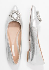 Dorothy Perkins - PARLOUR POINTED TRIM  - Ballet pumps - silver - 3