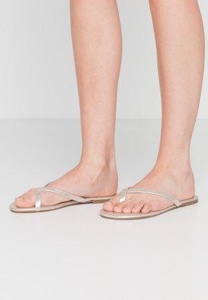 FLIP 2 PACK - Sandály s odděleným palcem - black/gold