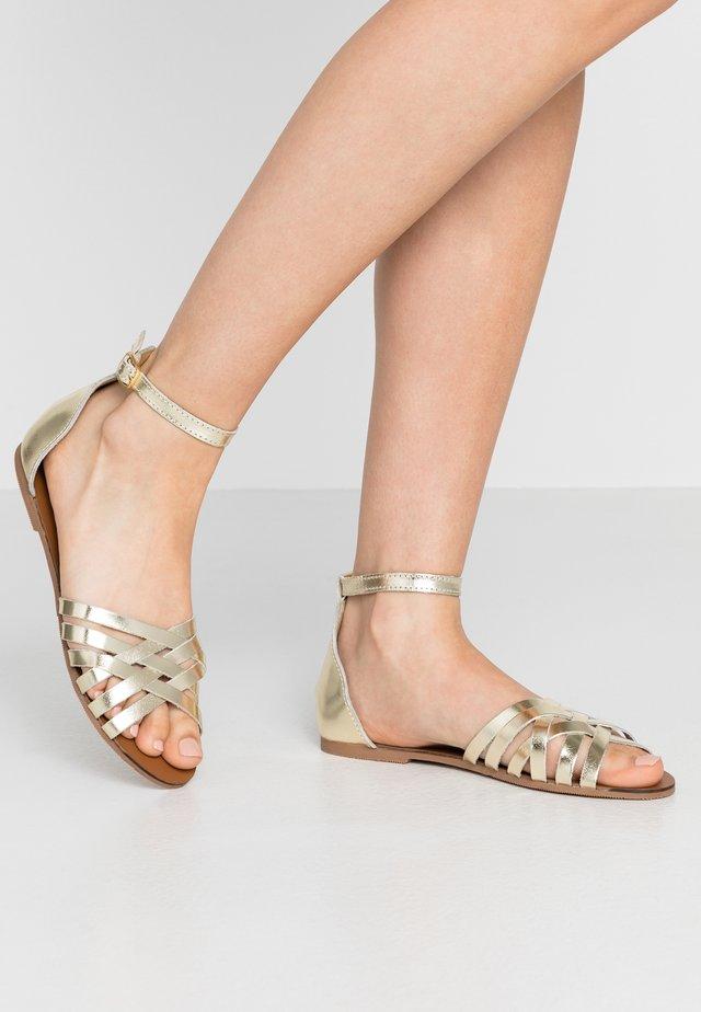 JINXER  - Sandales - gold