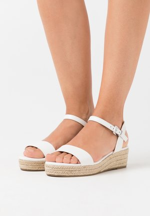 RHIANNA 2 PART - Espadrilky - white