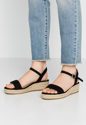 RHIANNA 2 PART - Espadrilky - black