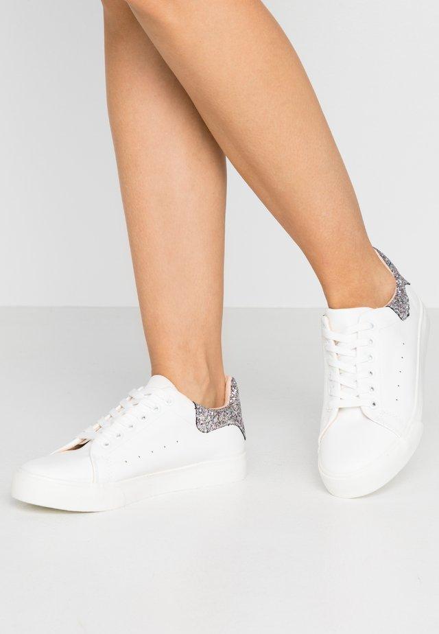 IRIS GLITTER - Sneakers - white