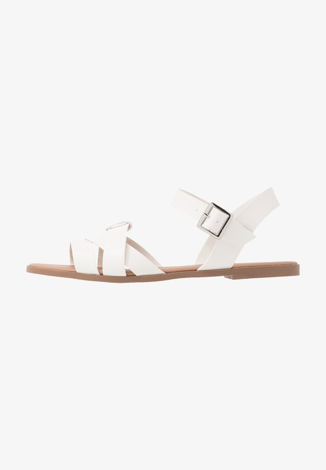 COMFORT FLY TWO PART  - Sandals - white