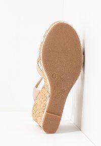 Dorothy Perkins - RHODA DRESSY GOING OUT WEDGE - Korolliset sandaalit - rose gold - 6