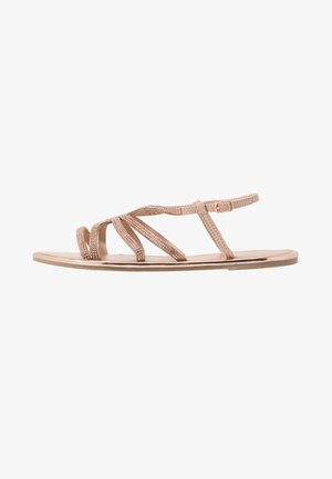 FIGARO EMBELLISHED - Sandals - rose gold