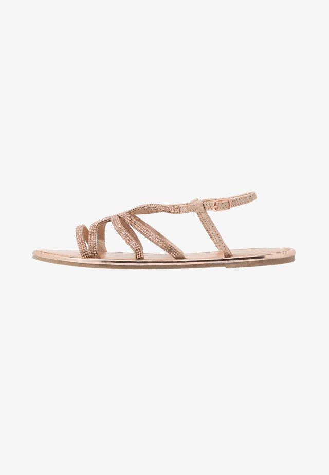 FIGARO EMBELLISHED - Sandals - rose gold