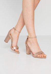 Dorothy Perkins - SHOWCASE SWEET VAMP  - High heeled sandals - rose gold - 0