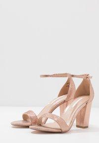 Dorothy Perkins - SHOWCASE SWEET VAMP  - High heeled sandals - rose gold - 4