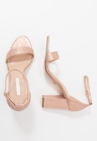 Dorothy Perkins - SHOWCASE SWEET VAMP  - High heeled sandals - rose gold - 3