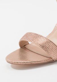 Dorothy Perkins - SHOWCASE SWEET VAMP  - High heeled sandals - rose gold - 2